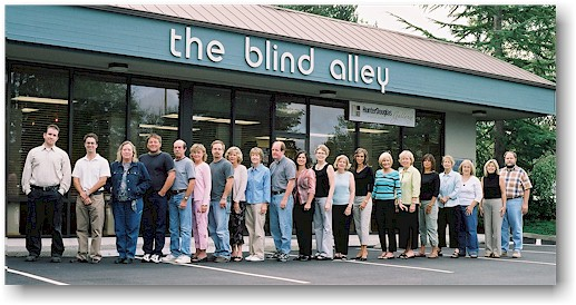 The Blind Alley, circa 2004. View our Showroom Portfolio.